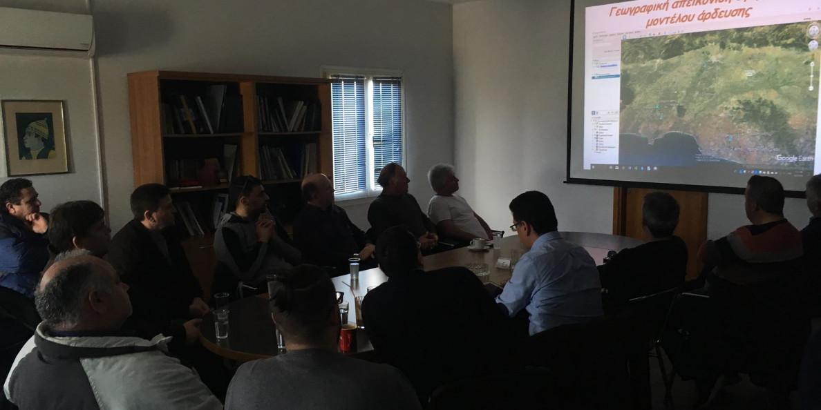 Παρουσίαση αποτελεσμάτων προγράμματος ευφυούς γεωργίας gaiasense