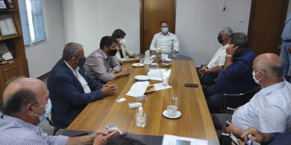 Επίσκεψη του Υπουργού Αγροτικής Ανάπτυξης κ. Σ. Λιβανού στα Θρακικά Εκκοκκιστήρια